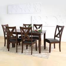 Abbyson Living Killian 7-Pc. Dining Set - Brown Hot Item Whosale Antique Style Oak Wood Rattan Cross Back Chair X Ding Chairs Knoxville Fniture Buy Kitchen Room Sets Online At Overstock Our Minimalist Wooden Manufacturers Louis Table With Ding Table Set 24x38 Rectangle And 4pcs Chair Outdoor Indoor Dning Room Fniture Rattan Design Sunrise 24 X38 Direct Wicker 6 Seat Rectangular Gas Fire Pit With Eton 1 Box Carton 16 Cheap Websites Usaukchicanada Black Round Marble Dh1424 Tableitalian Table120cm Top