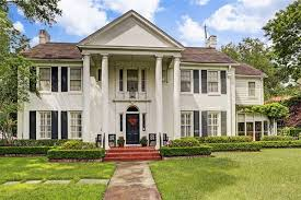 Southern Colonial Homes by Southern Colonial House In Prime River Oaks Luxury Homes