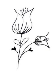 Lettering Line drawing Motivation How to draw flowers 15