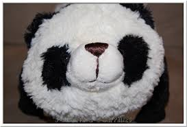 3 Garnets & 2 Sapphires My Pillow Pets Panda from CoppinsGifts