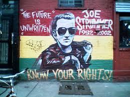 Joe Strummer Mural New York City by Never Mind The Bibles A Theology Of Punk