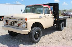 100 F350 Ford Trucks For Sale 1964 Flatbed Truck Item H6923 SOLD October 2