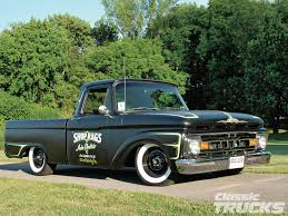 100 61 Ford Truck 19 F100 Flat Out Hot Rod Network