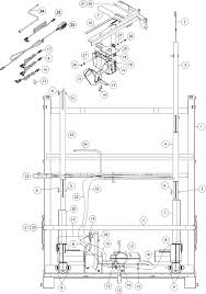 Trapeze Bar For Bed by Replacement Parts For Invacare Full Electric Ivc Beds 5490 Parts