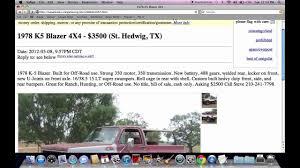 100 Craigslist Pickup Trucks Cars And San Antonio Jribasdigitalcom