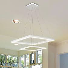 Led Room Grey Fan Rustic Without Design False Lights Living