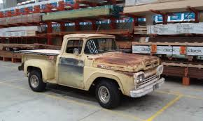 1960 Ford F100 Stepside Hillbilly Rust And Old Paint LHD – Star Cars ... Why Nows The Time To Invest In A Vintage Ford Pickup Truck Bloomberg 1960 F100 Classics For Sale On Autotrader This Sema Build Will Make You Say What Budget Wheels Pinterest Trucks And Classic Ranchero Red Motormax 79321acr 124 F1 Street Legens Hot Rods The Show 2016 Youtube Ford 12 Ton Short Bed 460 Big Block Power C6 Frankenford With Caterpillar Diesel Engine Swap Classiccarscom Cc708566 To 1970 Trucks For Best Resource Nice Lowered Stance Satin Black Paint Job