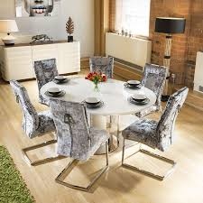 100 White Gloss Extending Dining Table And Chairs Kitchen Furniture Room Sets Village Types