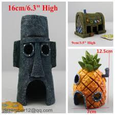 Spongebob Fish Tank Ornaments by 1pc Spongebob House Fish Tank Pineapple House Decoration Deep