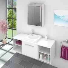 waschtisch mit waschbecken unterschrank city 302 140cm weiß