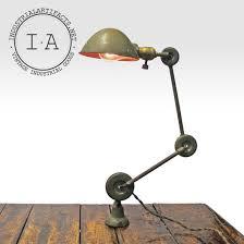 vintage industrial edon desk wall mount articulating task l