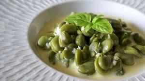 comment cuisiner les f es fraiches fèves à la crème recette des fèves à la crème recette par chef simon