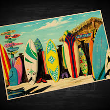Decorative Surfboard Wall Art by Popular Poster Surf Buy Cheap Poster Surf Lots From China Poster