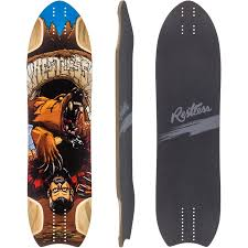 Types Of Longboard Decks by Restless Nkd Longboard Skateboard Deck W Grip Muirskate Com
