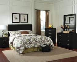 bedroom wall molding and curtain ideas with badcock furniture