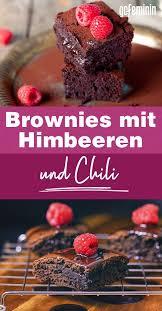 saftige brownies mit himbeeren göttliches rezept