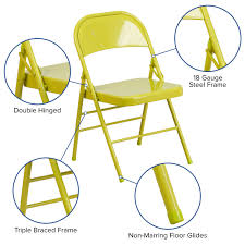 HERCULES COLORBURST Series Twisted Citron Triple Braced & Double Hinged  Metal Folding Chair Amazoncom Pnic Time Nhl Arizona Coyotes Portable China Metal Chair Folding Cujmh Ultralight Camping Compact Lweight Bpacking Beach Chairs With Carry Bag For Outdoor Camp Pnic Hiking Travel Best Gaming Computer Top 26 Handpicked Hercules Colorburst Series Twisted Citron Triple Braced Double Hinged Seating Acoustics Fniture Storage How To Reupholster A Ding Seat Pictures Wikihow Better Homes And Gardens Bankston Set Of 2 2019 Fniture Solutions For Your Business By Payless Gtracing Bluetooth Speakers Music Video Game Pu Leather 25 Heavy Duty Tropitone