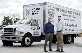 Two Men Take Over Local Two Men And A Truck Franchise | Local ... Two Men And A Trucks Extensive Traing Paves The Road To And A Truck Deal With Logistics Of Political Movements Las Vegas North Nv Movers Taylor Partners Ross Medical Education Center Help Us Deliver Hospital Gifts For Kids Two Men And Truck On Twitter Are You Watching The Chicago Movers In South Macomb Mi Best Places Worktwo Covabiz Magazine Driver Who Blog Nashville Tn Headquarter Interior Design Paragon Filetwo Trucksjpg Wikimedia Commons