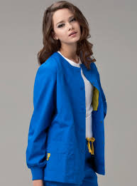 the delta 8006 wonderwink snap front jacket available at scrubs
