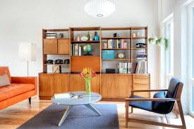 Living Room Furniture Target by Mid Century Modern Bookcases Mid Century Bookcase Living Room With