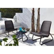 Keter Rattan Lounge Chairs by Amazon Com Keter Rio 3 Pc All Weather Outdoor Patio Garden