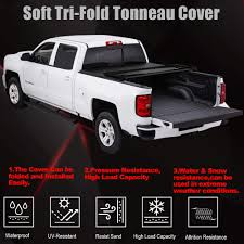 Tri-Fold Truck Bed Tonneau Cover For 2007 2008 2009 2010 2011 2012 2013  2014+ Chevrolet Silverado /GMC Sierra Fleetside 8' Bed Chevy Silverado Truck Bed Dimeions Dan Vaden Chevrolet Brunswick Details About Fits 1418 Sierra 1500 Raptor 02010306 Side Rails 2017 Price Photos Reviews Features Rightline Air Mattress 1m10 How Realistic Is The Test Covers Cover 128 Pickup Trucks Valuable 2014 3500 8 19992006 Truxedo Edge Tonneau 881601 Truxedocom 2015 2500hd Built After Aug 14 4wd Double Honda Pioneer 500 Sxs Truxedo Lo Pro Invisarack Rack 2007 2500 Hd Classic V8 81 Trux581197 Decked Drawer System For Gmc 082018 Dg4