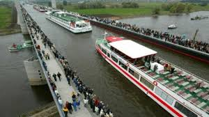 100 Magdeburg Water Bridge Conduit The Of Germany