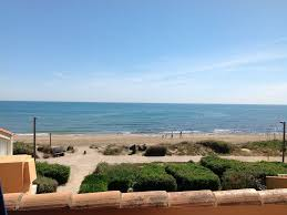 100 Absolute Beach Front Newly Refurbished Apartment Plage Rocquille Agde