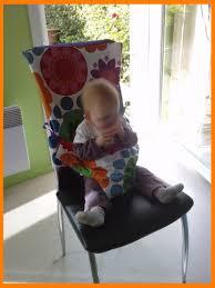 chaise bébé nomade couture chaise nomade bébé