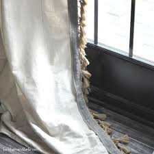 Ikea Sanela Curtains Brown by Ikea Curtain Makeovers How To Hack Your Ikea Curtains