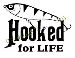 Hooked For Life Decal, Hooked, Truck Decal, Outdoorlife, Fishing ... 2 Fish Skeleton Decals Car Sticker Fishing Boat Canoe Kayak Rodfather Funny Vancar Jdm Vw Dub Vag Euro Vinyl Decal Tancredy Go Stickers And Bumper Bass Truck Wall Window 1pc High Quality 15179cm Id Rather Be Fly Angler Vinyl Decal Fly Fishing Sticker Ice Hell When Freezes Over Ill Visit To Buy 14684cm Is Good Bruce Pinterest 2018 Styling Daiwa Brand And For Hooked On Outdoor Life Camping