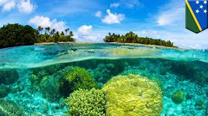 Sinking Islands Global Warming by Global Sea Level Rise Climate Change Already Submerged 5 Islands