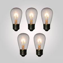 led filament light bulb s14 vintage look energy saving e26