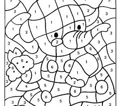 Difficult Color By Number Printables Coloring Numbers Pages Free Printable Code Star Picture