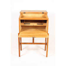petit bureau en bois petit secretaire bureau noir et bois eyebuy