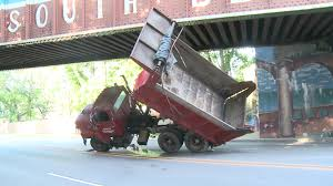 Dump Truck Gets Stuck Under South Bend Bridge Photos Columbus Bicycle Path Reopens After Semitruck Gets Stuck Carlisle Residents Fed Up Over Trucks Getting Under Bridge Another Look At The Truck I35 Closing Truck Stuck Under Bridge Fish Trail Lake Kxly Faq 11 Foot 8 Queens In Quebeyan The Age Meets Story Behind Spokanes Muchscarred On Campbell Avenue West Haven Watch Cherry Hill Durham Abc11com Tractor Trailer Wnepcom