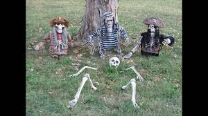 Outdoor Halloween Decorations Diy by 35 Scary Outside Halloween Ghost Decorations Ideas