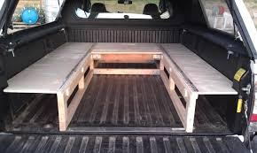 Truck Bed Sleeping Platform | Travel Vehicles | Truck Bed Camping ...