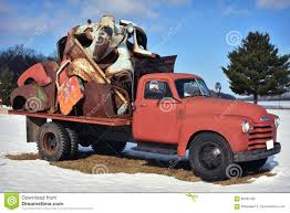 100 Junk Truck Vintage Rustic Holding Stock Image Image Of
