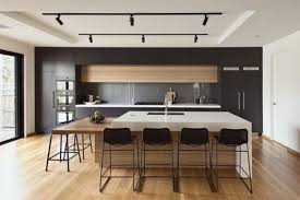 creative fluorescent kitchen light fixture using ceiling track