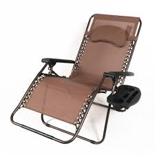 Anti Gravity Lounge Chair Cup Holder by Caravan Canopy Oversize Zero Gravity Chair Brown