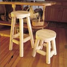 Rustic Natural Cedar Furniture 30 Bar Stool