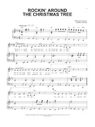 Rockin Around The Christmas Tree Piano Chords by Sheet Music Digital Files To Print Licensed Johnny Marks Digital