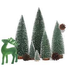 Mini Christmas Tree Stick White Cedar Desktop Small Special Decorations For Home Supplier