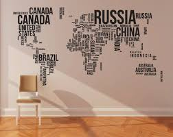 Wall Mural Decals Canada by Cool World Wall Art Decal Wall Art Decal Wallpaper And Country