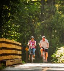 Pumpkin Vine Trail Ride by 14 Great Midwest Bike Trails Midwest Living
