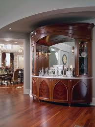 Dining Room Bar Cabinet Traditional