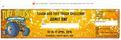 Virtual Ticket Download | Tuff Truck Challenge