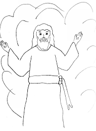 Lord Jesus Is Coming Again Coloring Page