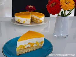 erfrischende joghurttorte mit mango gaumenschmaus